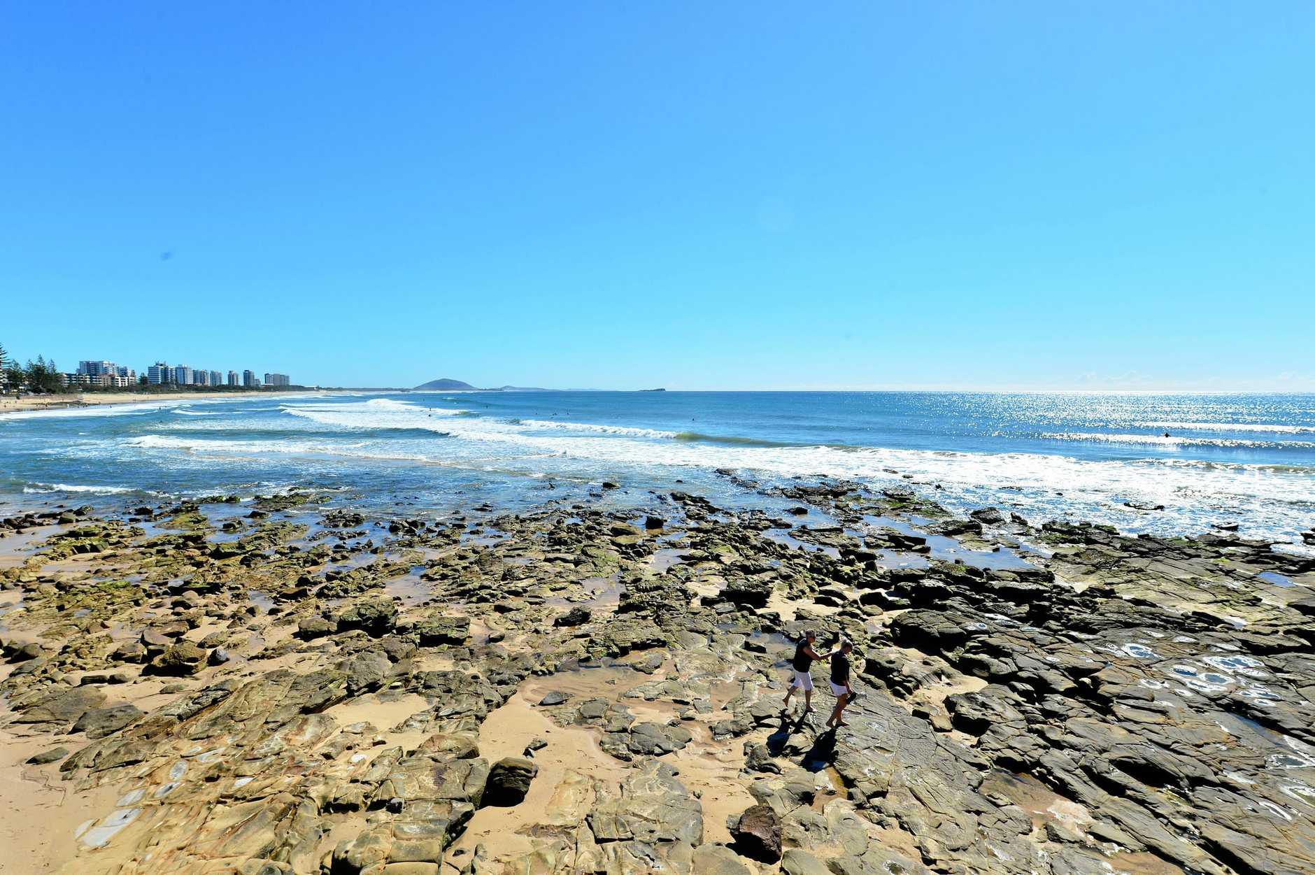 BEAUTIFUL Autumn weather on the Sunshine Coast looking north from Alexandra Headland.