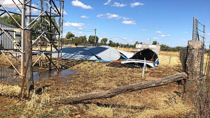 Muckadilla reservoir collapses