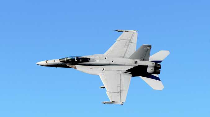 Anzac Day flyover: Where to see the Super Hornet