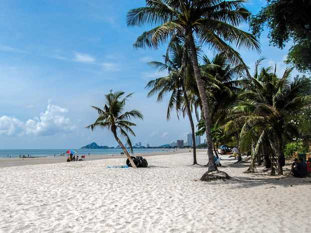 SUNNY DAYS: Hua Hin, the Royal Resort town on the Gulf of Thailand, three hours from Bangkok, is laidback enough to feel like a beach town but has all the modern conveniences of a Western city.