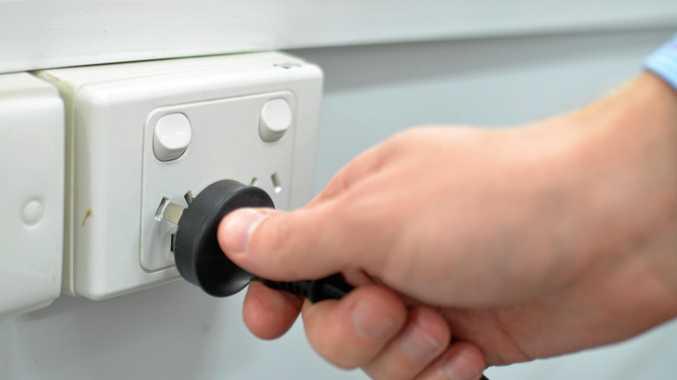 Power plug.
