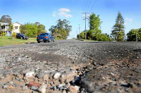 Bad Road Gympie Crown Road