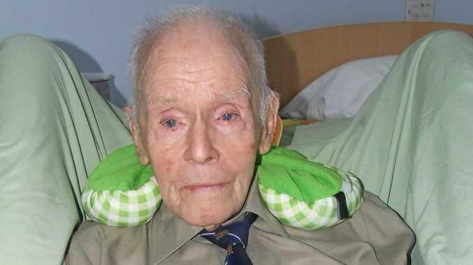 The oldest living Rat of Tobruk Allan Skerman, of Mackay, is 101.