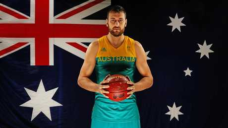 Veteran Boomer Andrew Bogut is returning home to Australia. Picture: Tim Carrafa