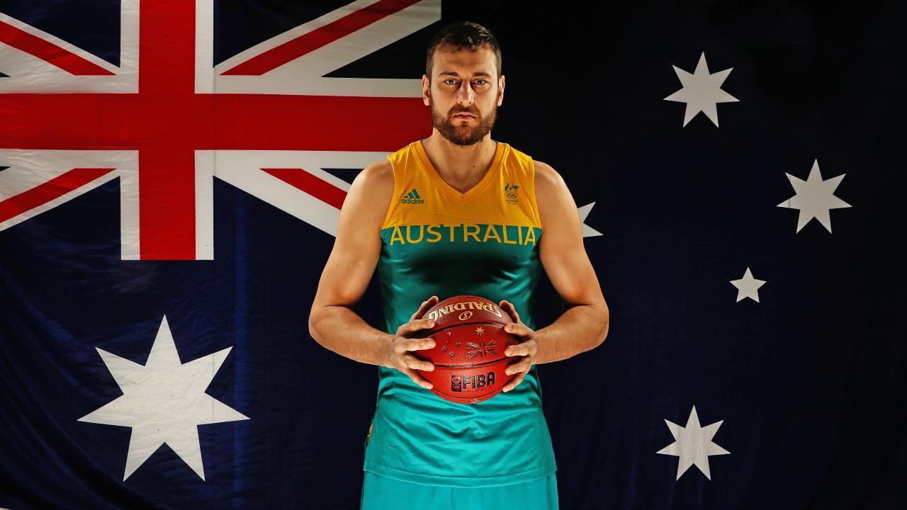 Veteran Boomer Andrew Bogut is returning home to Australia. Picture: Tim Carrafa