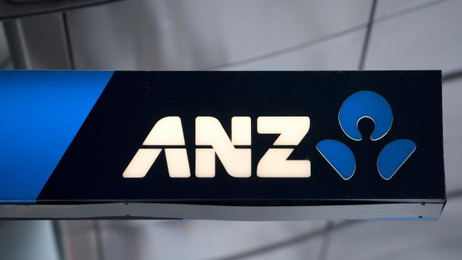 An ANZ branch in Sydney. Picture: Dan Himbrechts/AAP