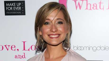 Allison Mack was arrested last week. Picture: AFP