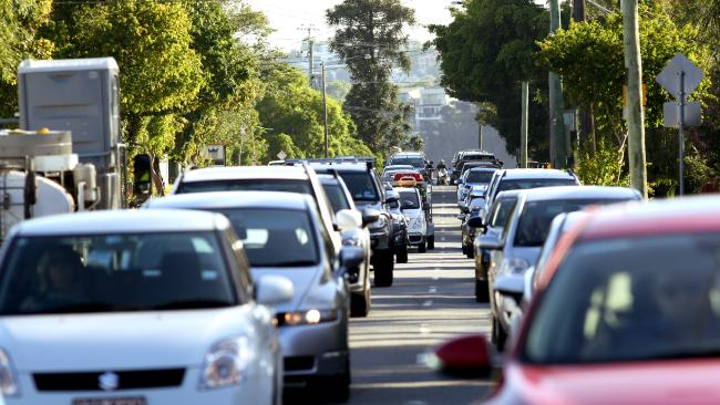 Queenslanders are pessimistic about public transport and travel time. Picture: Patria Jannides.
