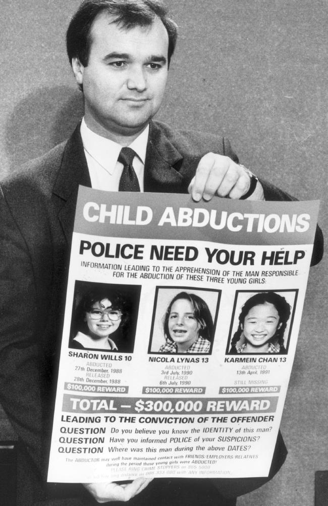 Mr Cruel terrorised Victoria during the 1980s.
