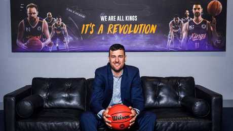 Andrew Bogut brings instant credibility to the NBL and the Sydney Kings. Picture: AAP