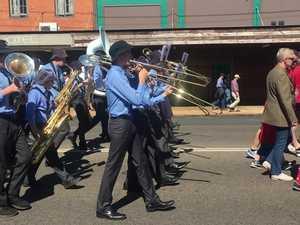 Kingaroy marching band.