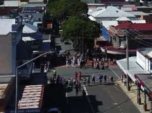 Gympie Anzac Day march 2018