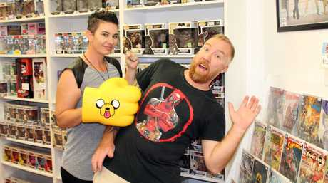 NOW OPEN: Comics n Pop owners Carla and Simon Thornton have had positive feedback from the community.