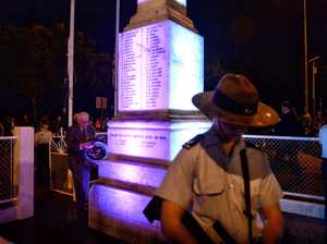 Goodna memorial light promise fulfilled with hours to spare