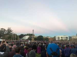 Anzac Day: Thousands attend Toowoomba dawn service