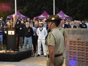 Nambour Anzac Day 2018 dawn service Australian anthem