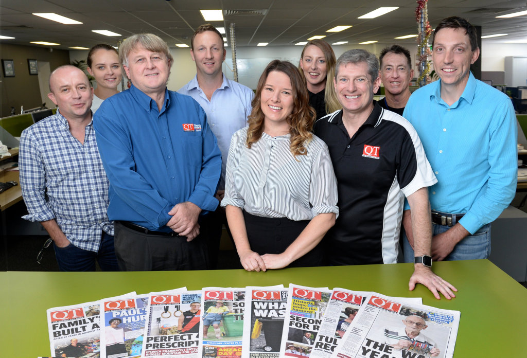 The Queensland Times team. Staff.