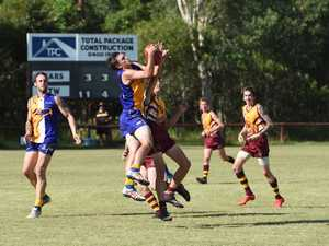 AFL WIDE BAY: The Waves v Maryborough Bears at Port