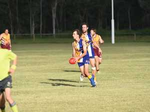 AFL WIDE BAY: Maryborough Bears v The Waves at Port