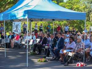 Local dignitaries attend MADDASIA ANZAC Day ceremony