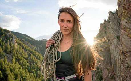 Adventure photographer Krystle Wright.