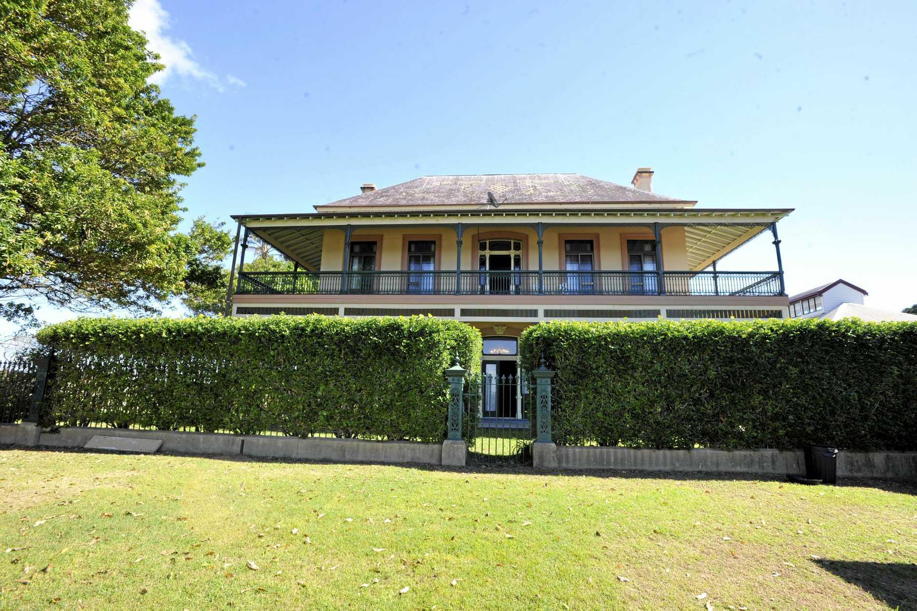 Fenwick House at Shaws Bay in Ballina. Photo Cathy Adams / The Northern Star