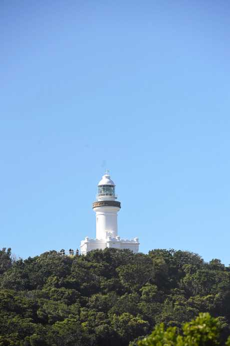 SOLD Feature - Byron Bay Lighthouse as viewed from Wategoes.