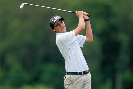 Lennox Head golfer Jay Mackenzie.