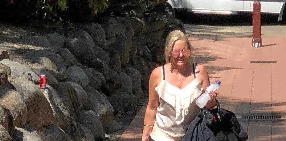 Catherine Faye Campbell is self-represented in a Rockhampton District Court trial over charges of fraud, falsifying testimony in documents and perjury.
