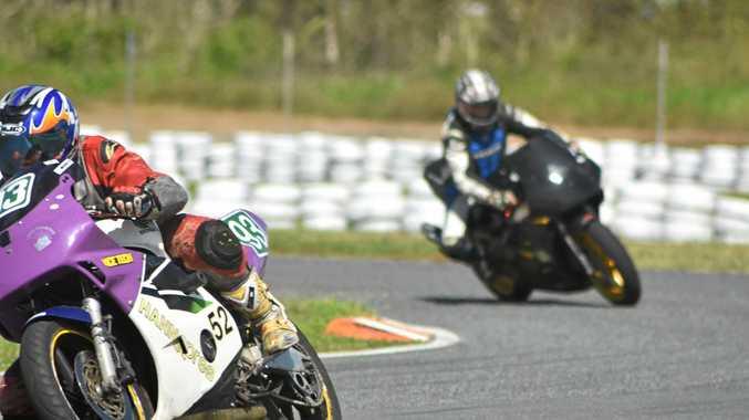 SPEEDY MAGEE: Ash Wheeler at Whitsunday Raceway on Sunday.