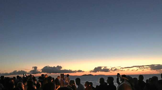 Thousands gather to reflect at dawn services across region