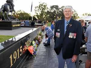 Three decades of marching for ex-Navy officer