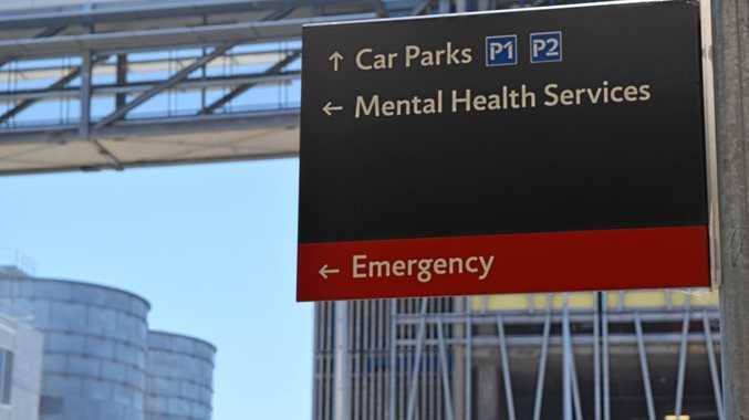 Sunshine Coast University Hospital mental health unit.
