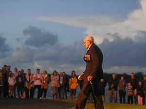 Moving ceremony at Ballina Anzac Service