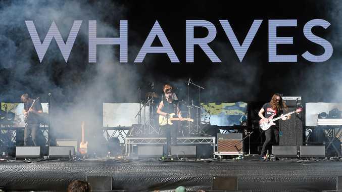 Wharves play Splendour in the Grass 2017 near Byron Bay.