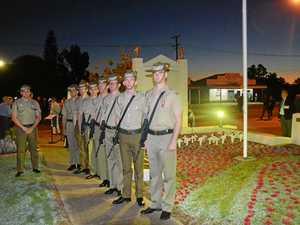 Gayndah gathers to remember the fallen