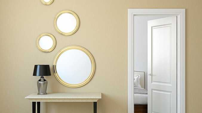 A reflection of the times, mirrors are totally on-trend this year.