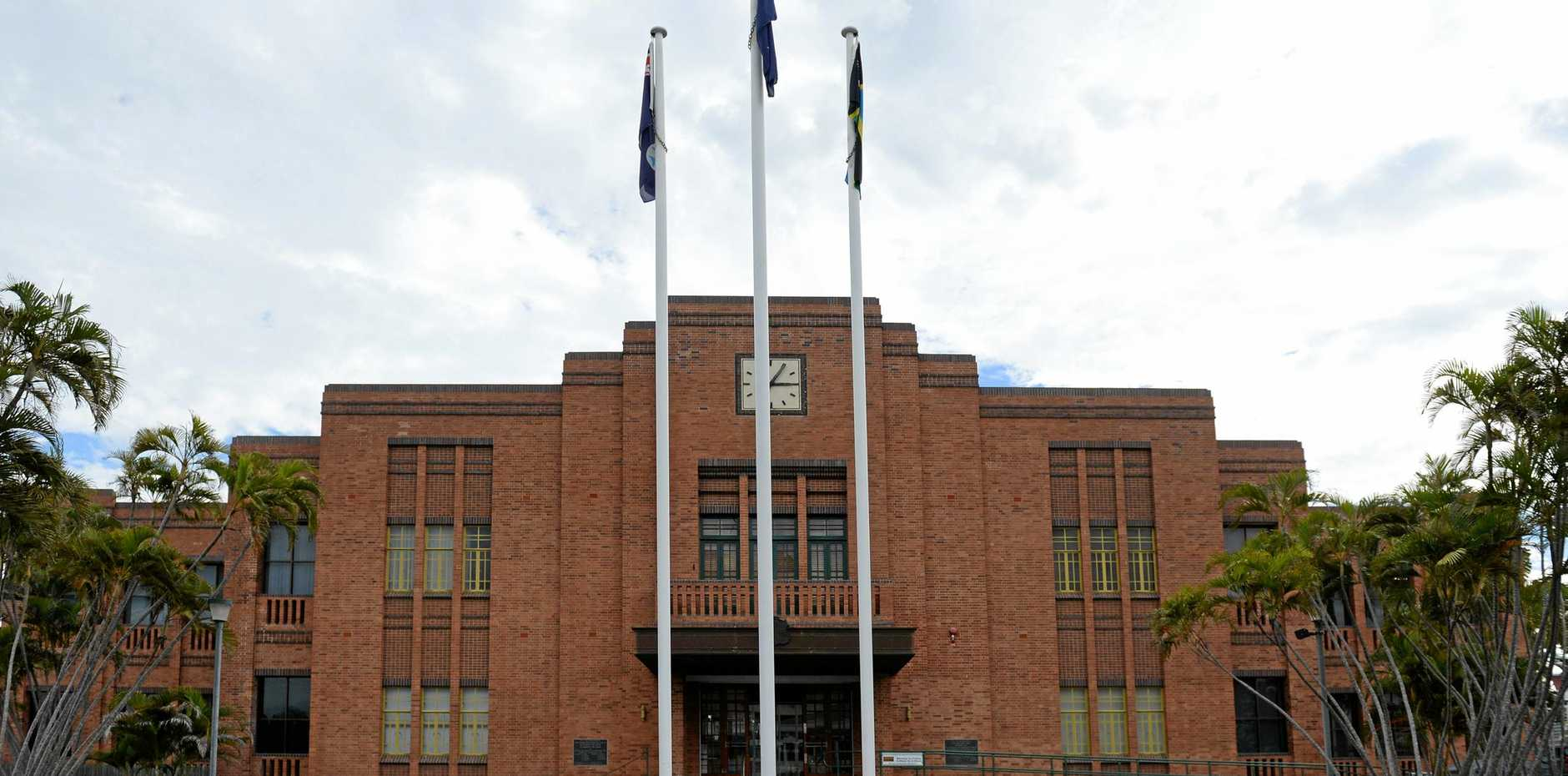 Rockhampton City Hall on Bolsover Street will be the site of tomorrow's council meeting.