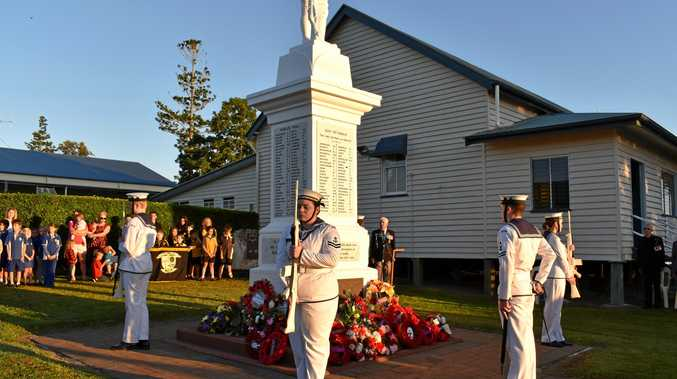 RSL secretary feels sense of worth at Anzac service