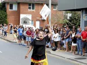 Mother of Anzac protester apologises