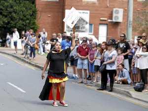 Lone Anzac Day protester