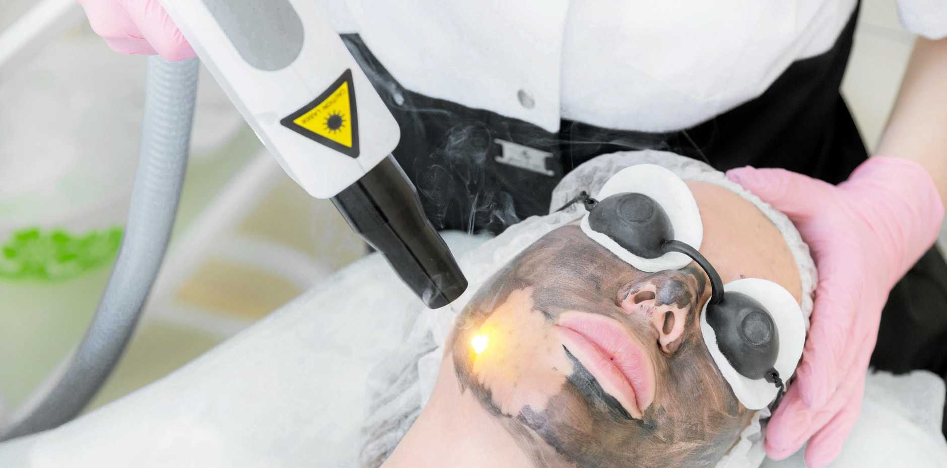 A carbon laser facial claims to leave skin softer, firmer and smoother.