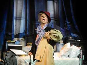 Paul Capsis as Quentin Crisp in a tale of queer grandeur