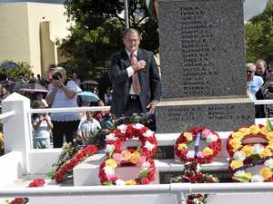 Anzac Day service at Maclean