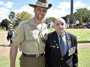Three generations symbolise Toowoomba's Anzac spirit