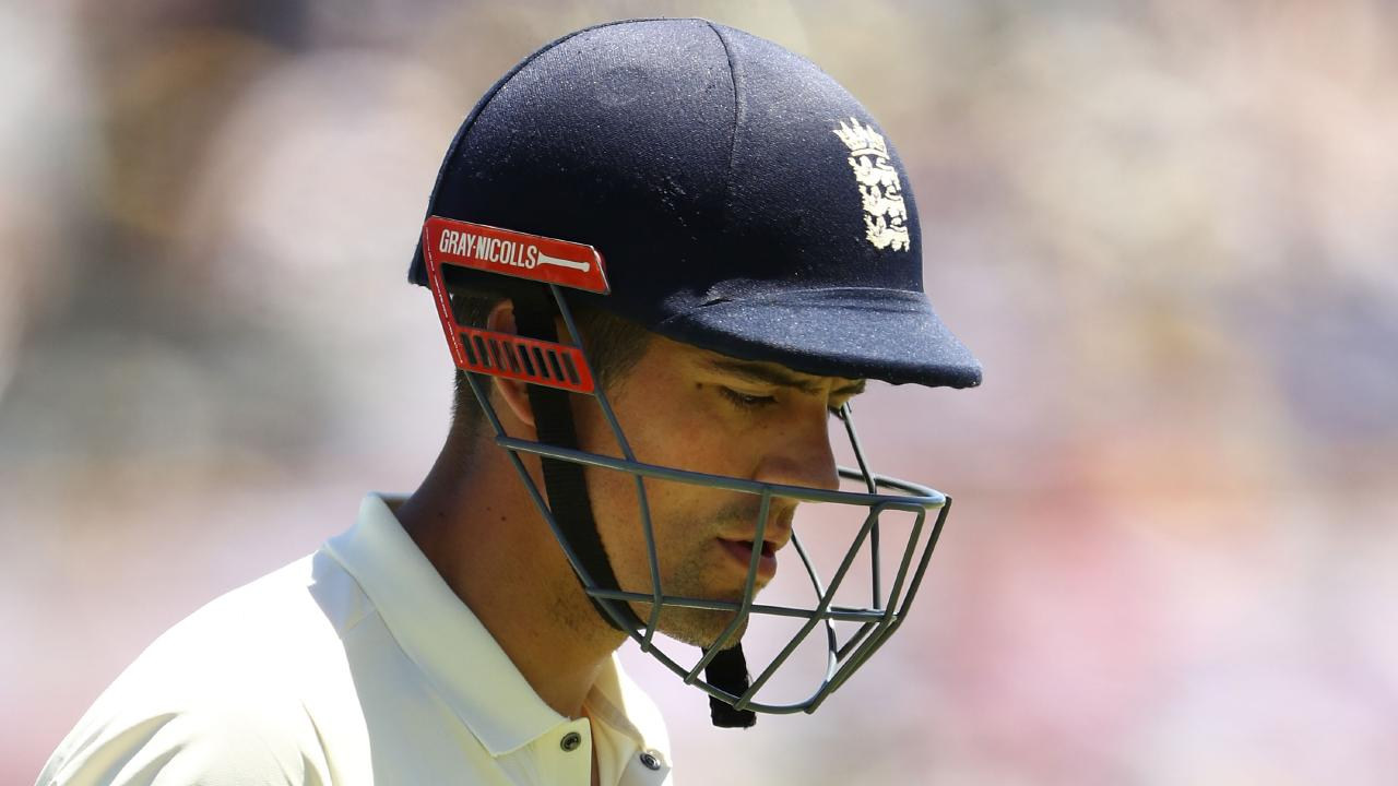 Alastair Cook has raised the question of ball tampering in Ashes.