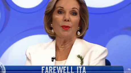 Ita Buttrose explains her departure.