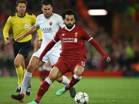 Salah was untouchable.