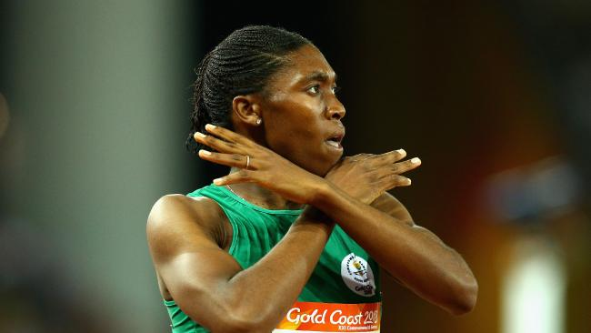 Caster Semenya's run of dominance could be coming to an end. Picture: Michael dodge/Getty Images