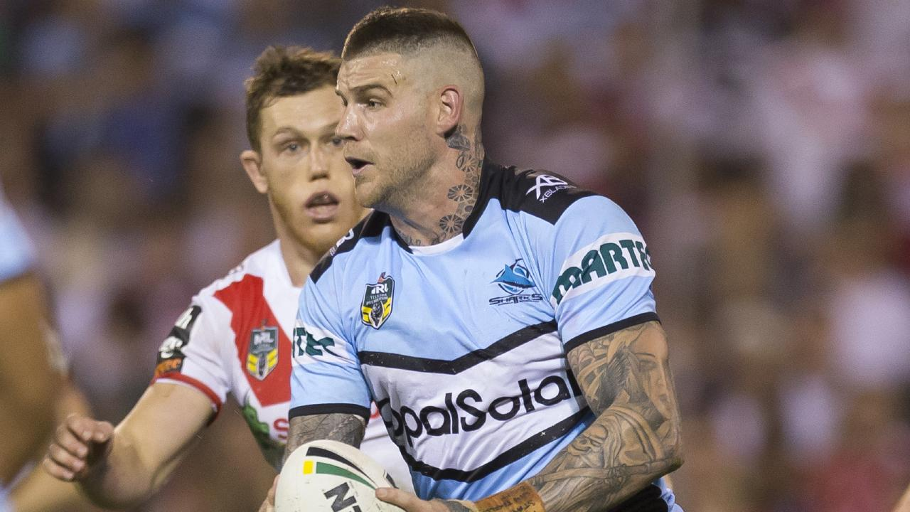 Josh Dugan is currently the first choice fullback at the Sharks.